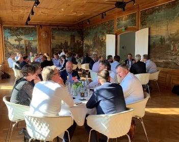 Dineren en netwerken tijdens het Executive Diner 2019